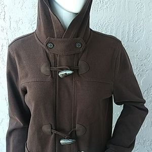 Lauren by RL Ladies Toggle Button hoodie